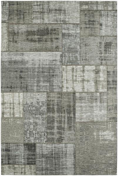 Kurzflor Designer Teppich Obsession Gent 751 silber