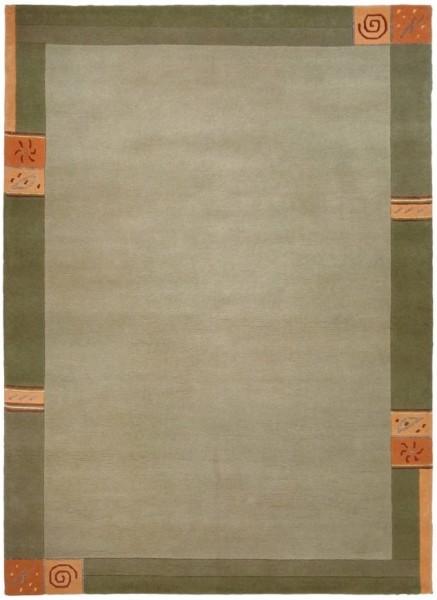 Teppich Wissenbach Manali 101 grün 60 x 90 cm