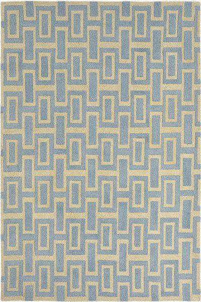 Teppich Wedgwood Intaglio 37208 blau beige