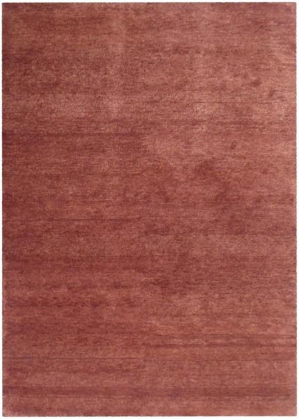 Kurzflor Designer Teppich Angelo Bhutan 4835-C2 burgund rot