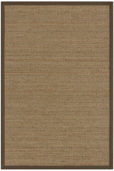 Seegras Teppich Astra Rangoon beige / naturgrün 999