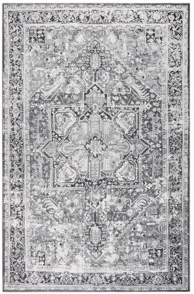 Kurzflor Designer Teppich Wecon Home Seelace WH-19090-06 grau