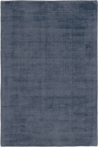 Kurzflor Designer Teppich Obsession Maori 220 denim / blau