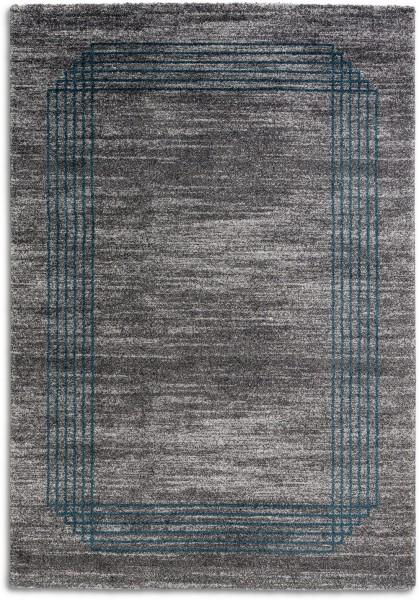 Hochflor Shaggy Teppich Astra Savona 6888 202 023 grau blau