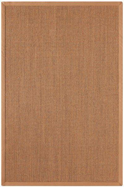 Sisal Teppich Astra Manaus hellbraun / cognac 50