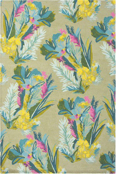 Teppich Bluebellgray Jungle 18307 multicolor