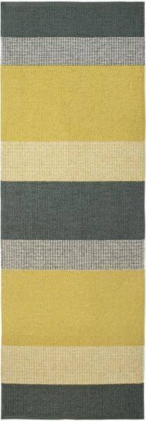 Indoor / Outdoor Teppich Brita Sweden Seasons sunny / gelb grau (Läufer)