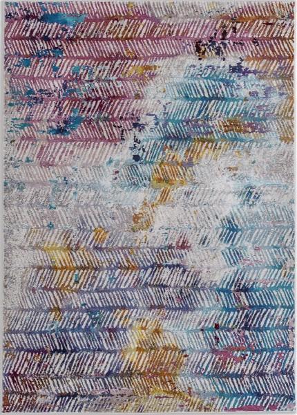Kurzflor Designer Teppich Astra Siena 6999 187 022 blau lila
