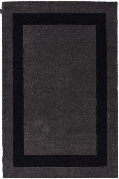 Kurzflor Designer Teppich Angelo Loft 6000-B2-058 grau schwarz