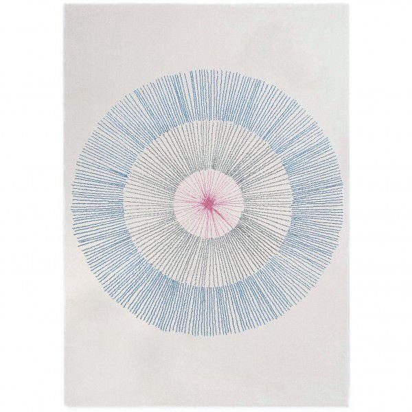 Teppich Edito Pissenlit AR007B blau in 160 x 230 cm