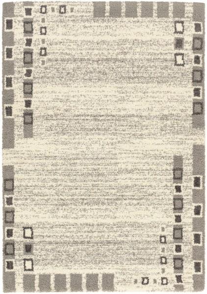 Hochflor Shaggy Teppich Astra Rivoli 6903 172 040 grau