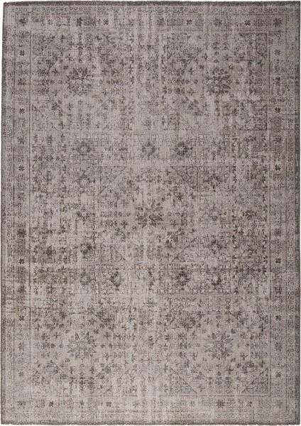 Kurzflor Designer Teppich Obsession Tilas 242 grau
