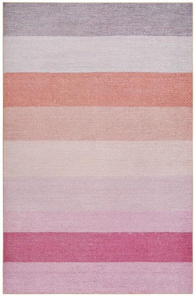 Kurzflor Designer Teppich Esprit Clifton ESP-20012-02 rosa multicolor