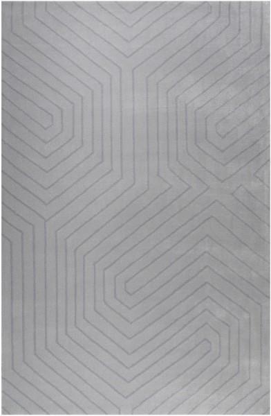 Kurzflor Designer Teppich Esprit Raban ESP-4183-02 silber