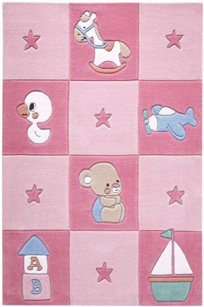 Teppich Smart Kids Newborn SM-3986-02 rosa