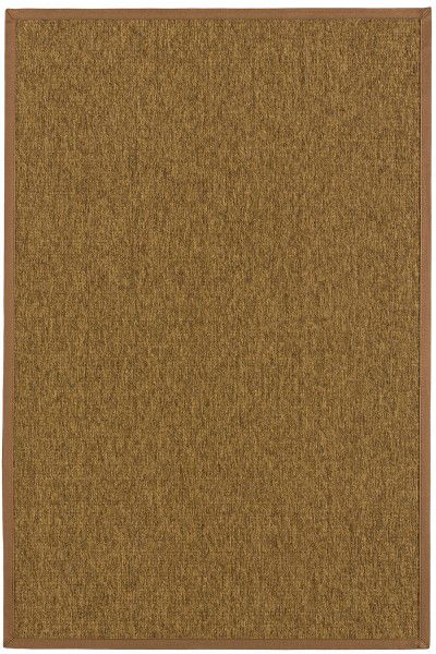 Indoor / Outdoor Teppich Astra Sylt 6530 806 060 ocker / braun