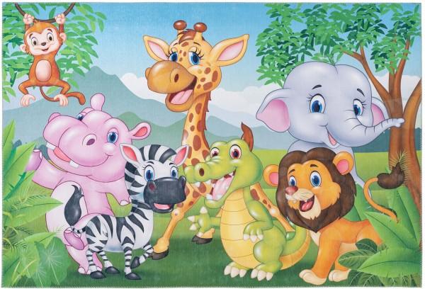 Kinder Teppich Obsession Torino Kids 239 Jungle multicolor