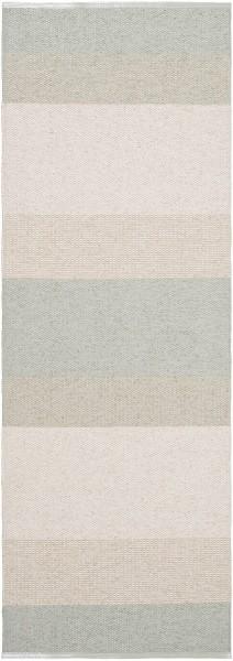 Indoor / Outdoor Teppich Brita Sweden Seasons lichen / beige grau (Läufer)