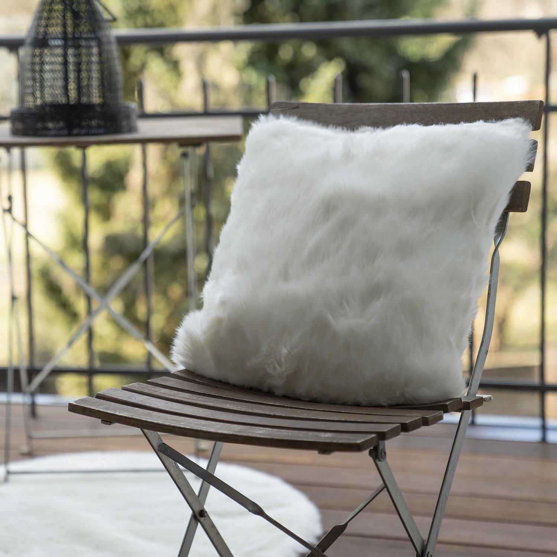 Kissen Obsession Samba Cushion 595 elfenbein weiss