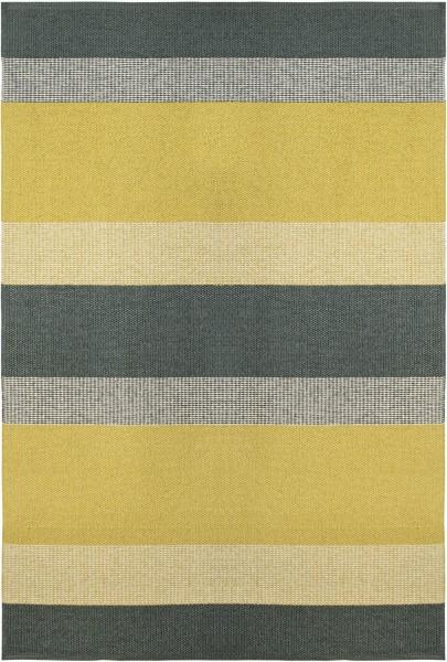 Indoor / Outdoor Teppich Brita Sweden Seasons sunny / gelb grau (Gross)