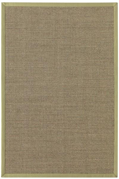 Sisal Teppich Astra Manaus grün / heu 35