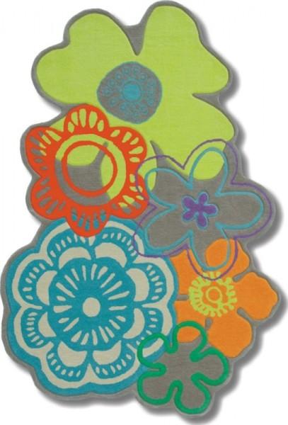 Kinder Teppich Brink & Campman Kids Fleur 41207 multicolor
