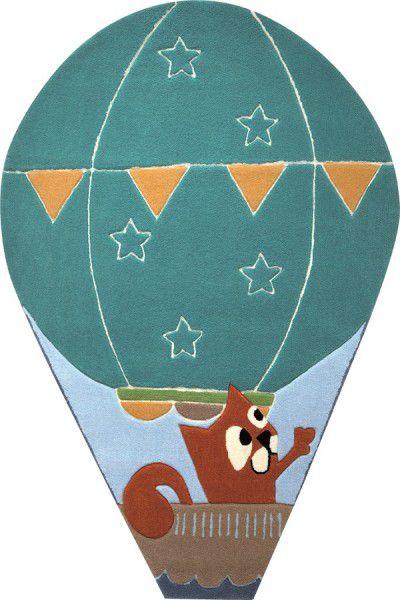 Kinder Teppich Esprit Balloon ESP-4014-02 blau