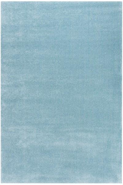 Kurzflor Designer Teppich Obsession Jive 615 ocean / blau