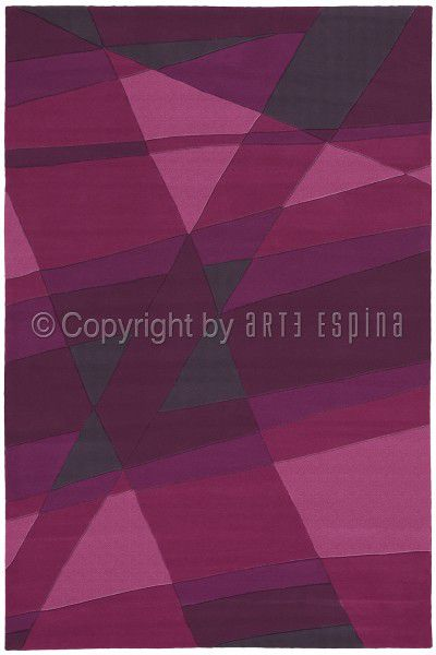Kurzflor Designer Teppich Arte Espina Joy 4058-44 lila