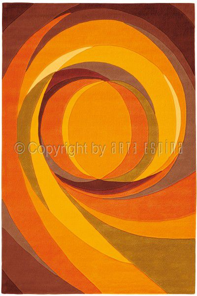 Teppich Arte Espina Spirit 3002-35 orange 200 x 200 cm