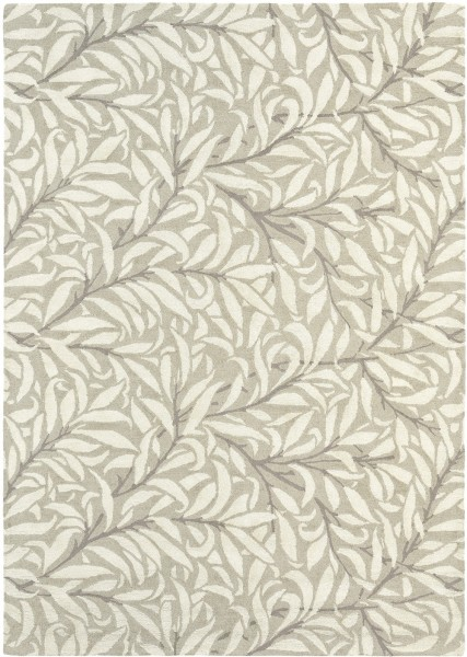 Kurzflor Designer Teppich Morris & Co Willow Bough 28309 Ivory creme beige