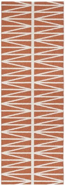 Indoor / Outdoor Teppich Brita Sweden Helmi terracotta (Läufer)