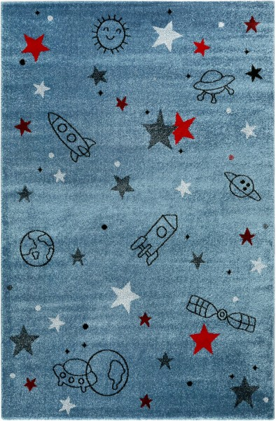 Kinder Teppich Esprit Yoda ESP-21980-032 blau