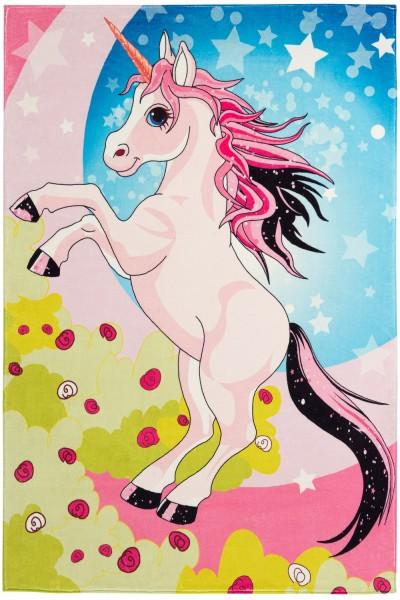 Kinder Teppich Obsession Juno 474 Unicorn multicolor