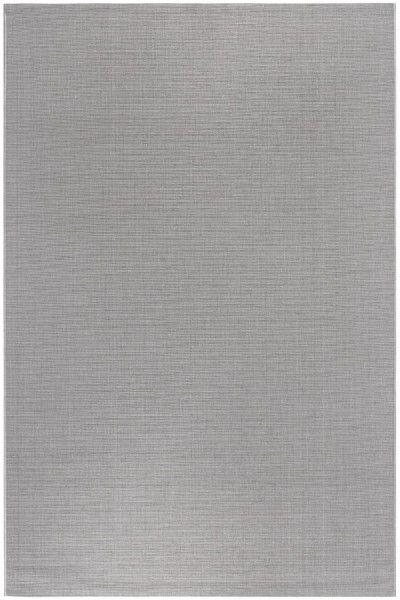 Kurzflor Designer Teppich Luxor Living York silber
