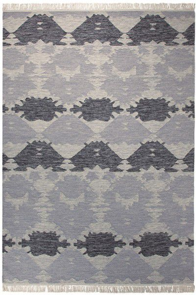 Kurzflor Designer Teppich Esprit Denim batik ESP-7020-03 anthrazit