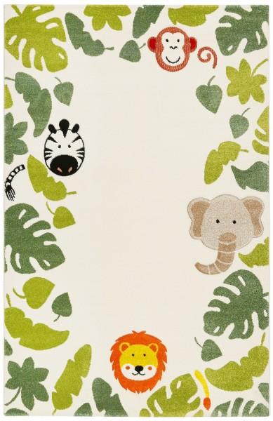 Kinder Teppich Esprit E-Safari ESP-21369-060 weiss grün