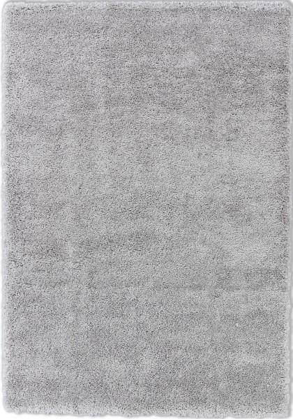 Hochflor Shaggy Teppich Schöner Wohnen Savage 190 004 silber