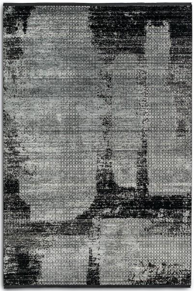 Kurzflor Designer Teppich Astra Sofia 6625 202 041 schwarz anthrazit