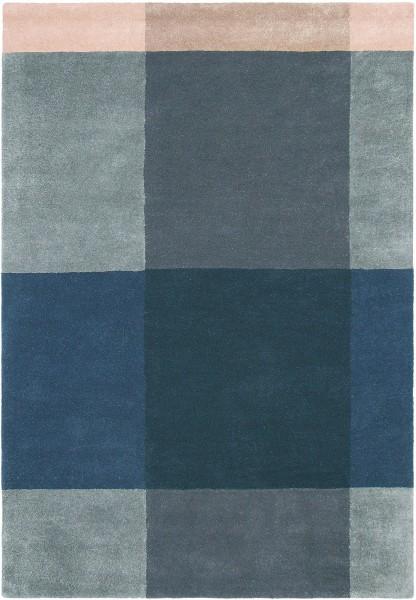 Teppich Ted Baker Plaid 57804 grau blau