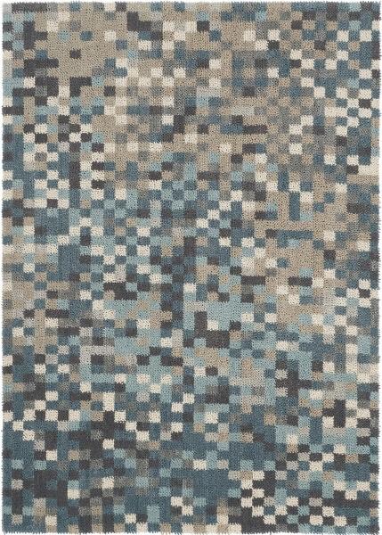 Kurzflor Designer Teppich Brink & Campman Dart Fade 023104 grau blau