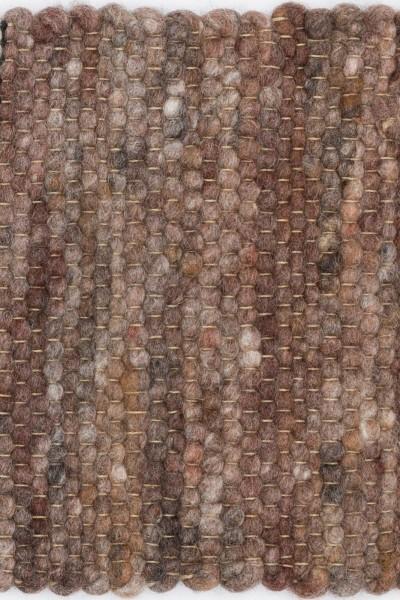 Kurzflor Designer Teppich Paulig Salsa 117 braun