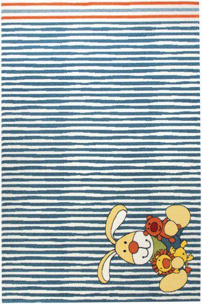 Kinder Teppich Sigikid Semmel Bunny SK-0527-01 blau