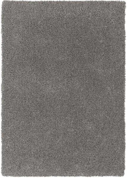 Hochflor Shaggy Teppich Schöner Wohnen New Feeling 6161 004 silber