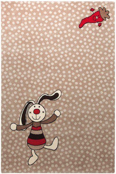 Kinder Teppich Sigikid Rainbow Rabbit SK-0523-04 beige