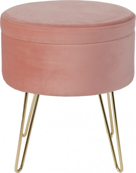 Hocker / Tisch / Ablage Obsession Glamour Stool 222 powder pink / rosa