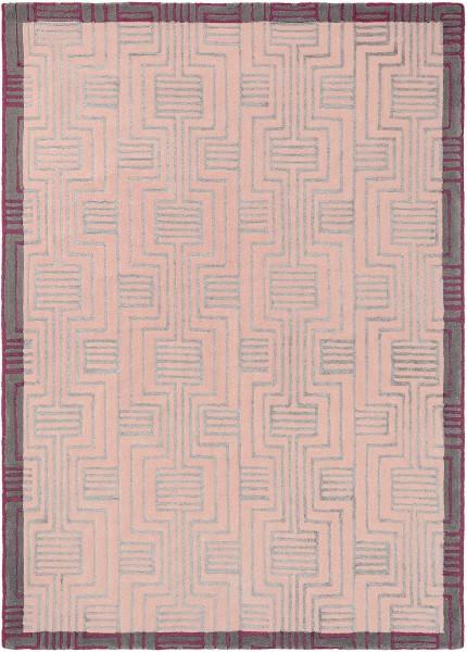 Kurzflor Designer Teppich Ted Baker Kinmo 56802 pink