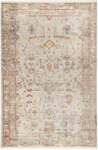 Kurzflor Designer Teppich Wecon Home SoHo Beat WH-24048-110 beige rot