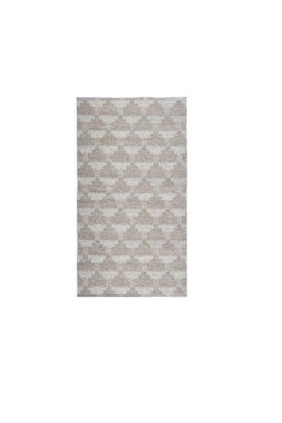 Indoor / Outdoor Teppich Brita Sweden Confect vanilla / silber grau (Klein)