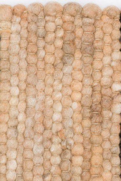Kurzflor Designer Teppich Paulig Salsa 62 beige braun
